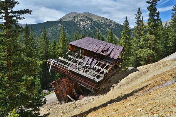 Mt Antero,St Elmo, Hancock Mine