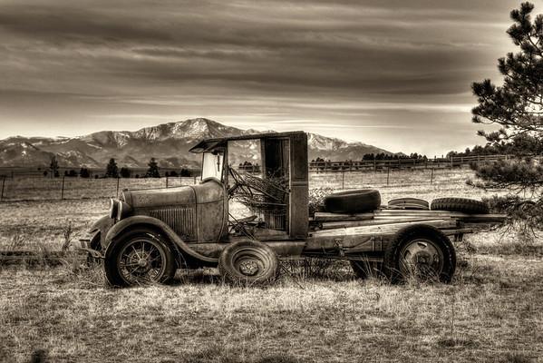 Old Cars, Trucks, Tractors
